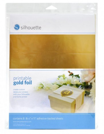 Feuille d'or imprimable